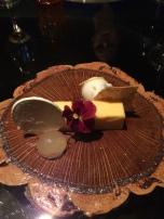 Nope, this is not butter, it's a lemon, custardy dessert!