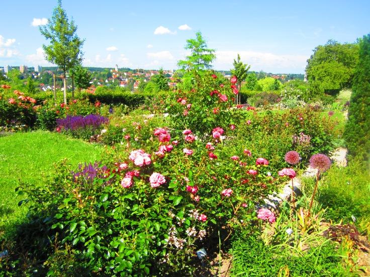 Beautiful garden nearby