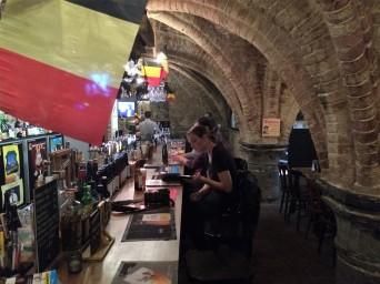 Awesome cellar bar