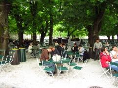 Amazing beer garden
