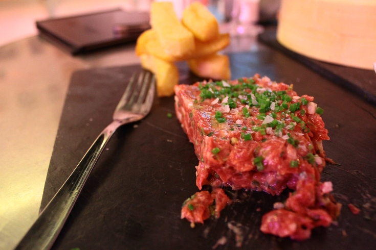 As good of a beef tartar as I've ever had